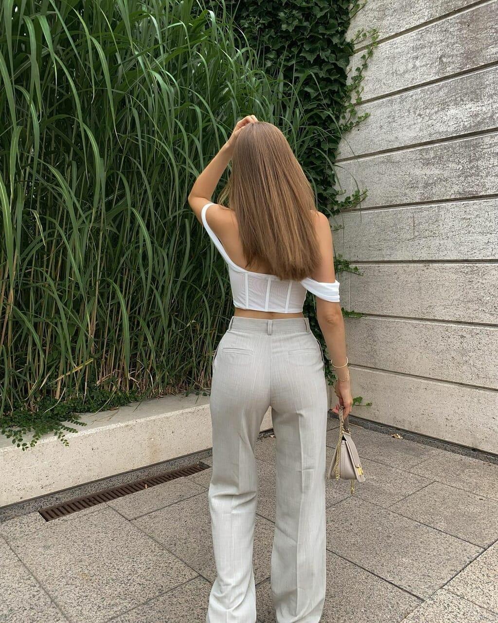 blogger, corset, and fashion image