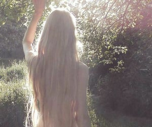 girl, nature, and aesthetic image
