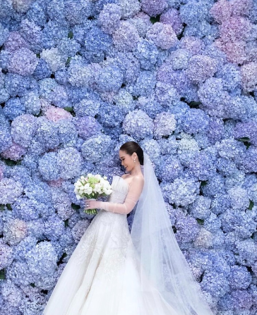 article, bride, and colors image