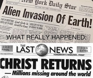 alien, christian, and bible image