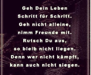 allein, schicksal, and deutsch image