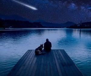 estrellas, lago, and placer image