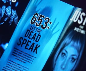 blue, cyberpunk, and dark image