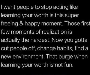 change habits, stop acting, and cut people off image