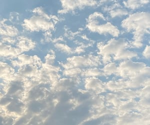 bliss, blue, and clouds image
