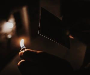 aesthetic, dark, and emotional image