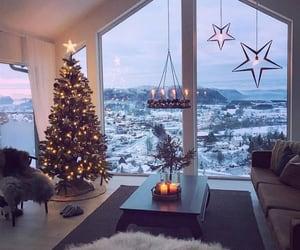 beige, lights, and maison image