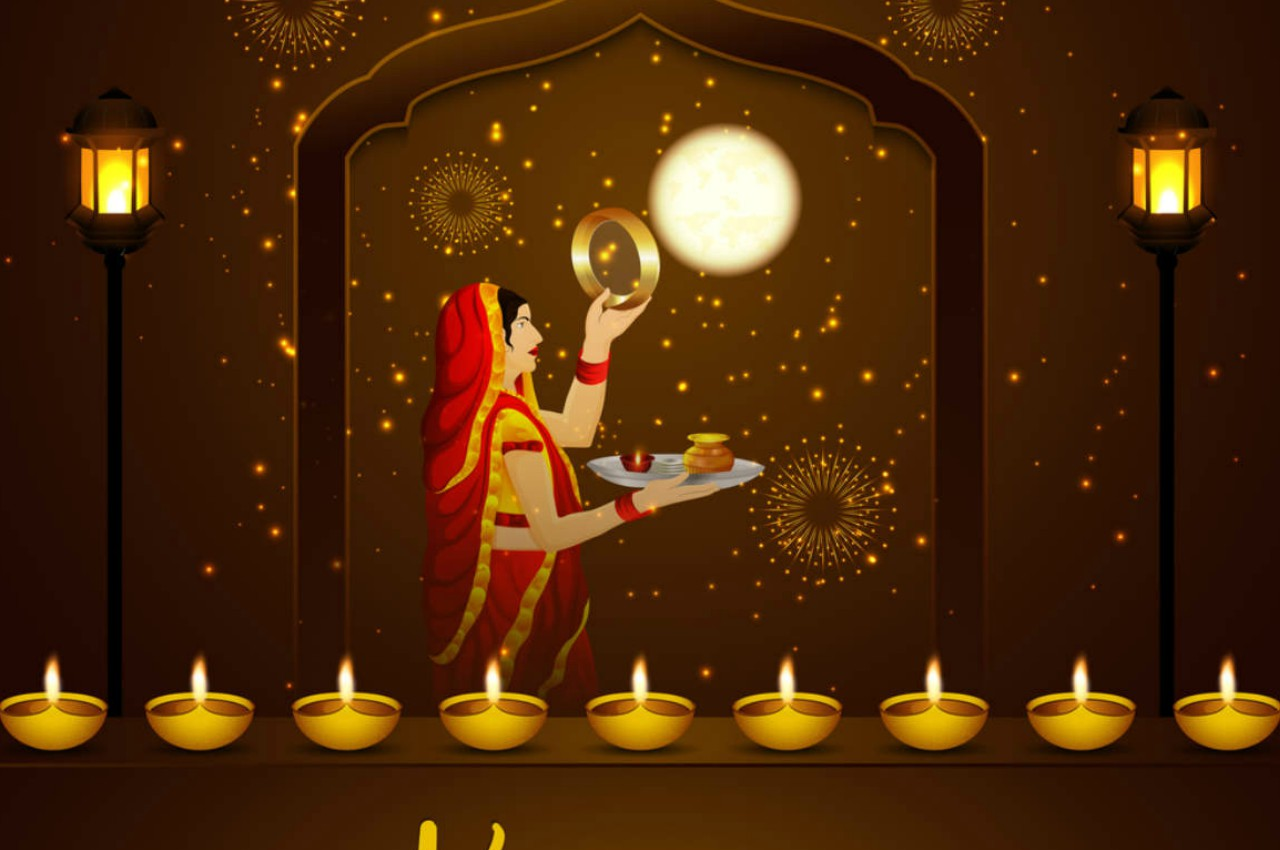 article, festival, and karwachauth image