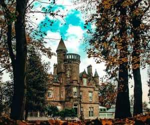 castle, photography, and autumn image
