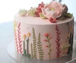Charming Wildflower Cake