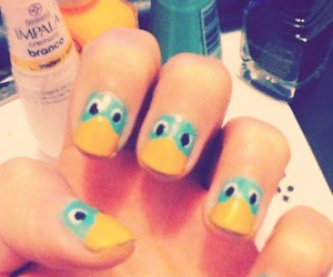 nails, perry, and cute image