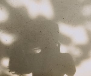 girl, shadows, and indie image