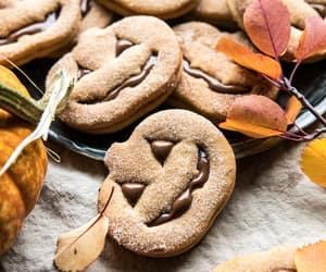 chocolate, fall, and autumn image