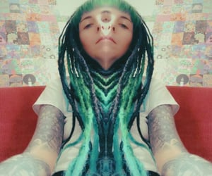acid, dreads, and third eye image