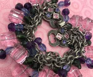 charm bracelet, etsy, and 1980s jewelry image
