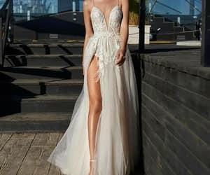 beautiful, fashion, and wedding day image