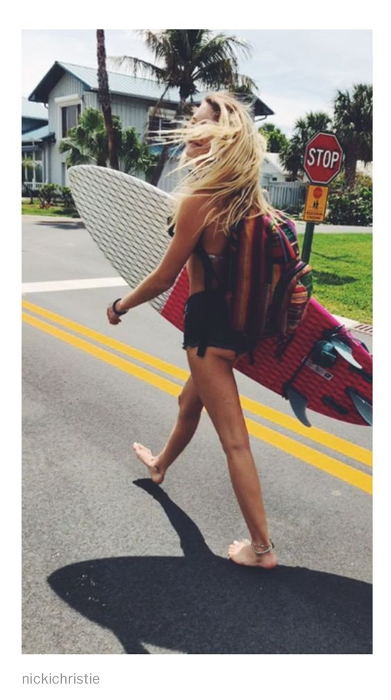 aesthetic, surf girl, and article image