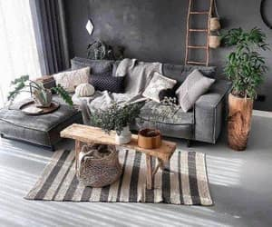house, living room, and home image