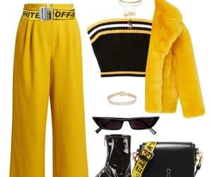 Hot, girlpower, and yellowfashion image