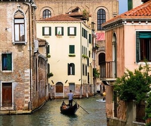architecture, boats, and buildings image
