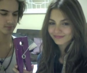 victorious, victoria justice, and avan jogia image