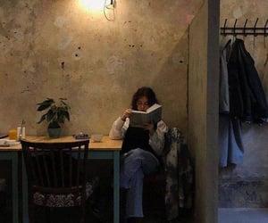 book, dark, and girl image