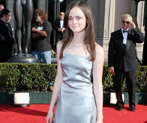 alexis bledel, gilmore, and heels image