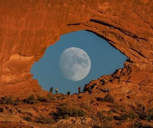 adventure, beautiful, and moon image