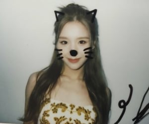 aesthetic, cat girl, and polaroid image