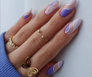 fashion, nails, and aesthetic image