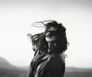 aesthetic, dark hair, and girl image