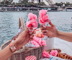 pink, flowers, and goals image