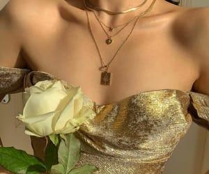 art, blog, and dress image