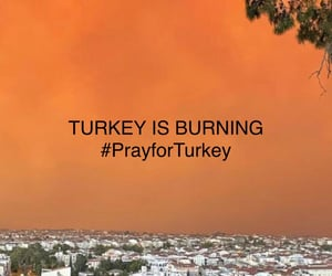 fire, turkey, and world image