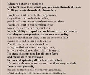 advice, cheating, and Relationship image