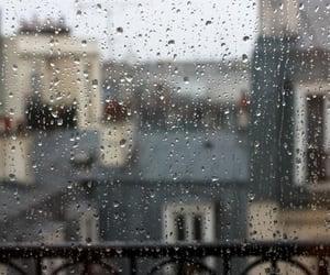 Rain in Paris...