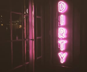 dirty, neon, and pink image