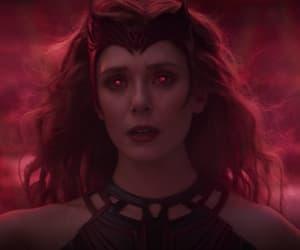 elizabeth olsen, mcu, and Marvel image