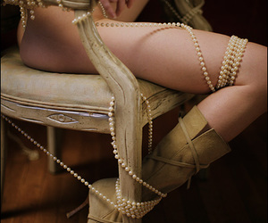 boots, Nude, and chair image