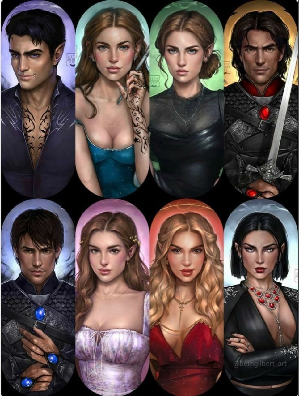 morg, cassian, and feyre image