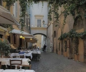 italy, aesthetic, and restaurant image