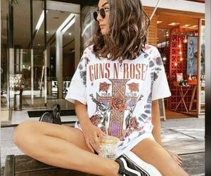 brazilian girl, brunette, and ice coffee image