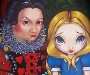 alice in the wonderland, oracle, and alice no pais das maravilhas image
