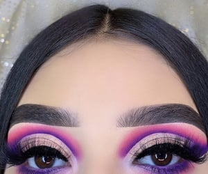 eyeshadow, lashes, and brows image