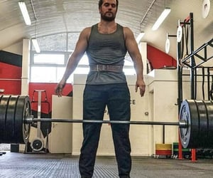 gym, Henry Cavill, and training image