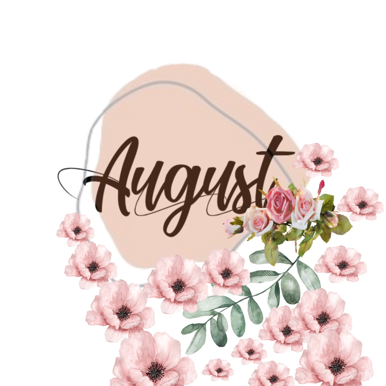 aesthetic, August, and flowers image