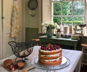 cake, kitchen, and home image