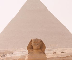 ancient egypt, sphinx, and egyptology image