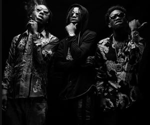 aesthetic, offset, and rap image