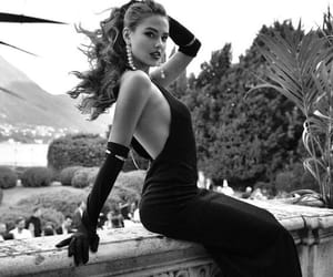 aesthetic, beauty, and black & white image
